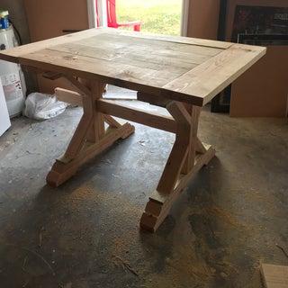 Rustic Farmhouse Table DIY