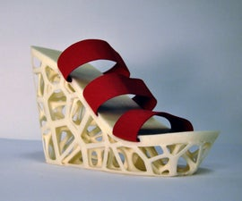 How to 3D Print Stylish Parametric Shoes