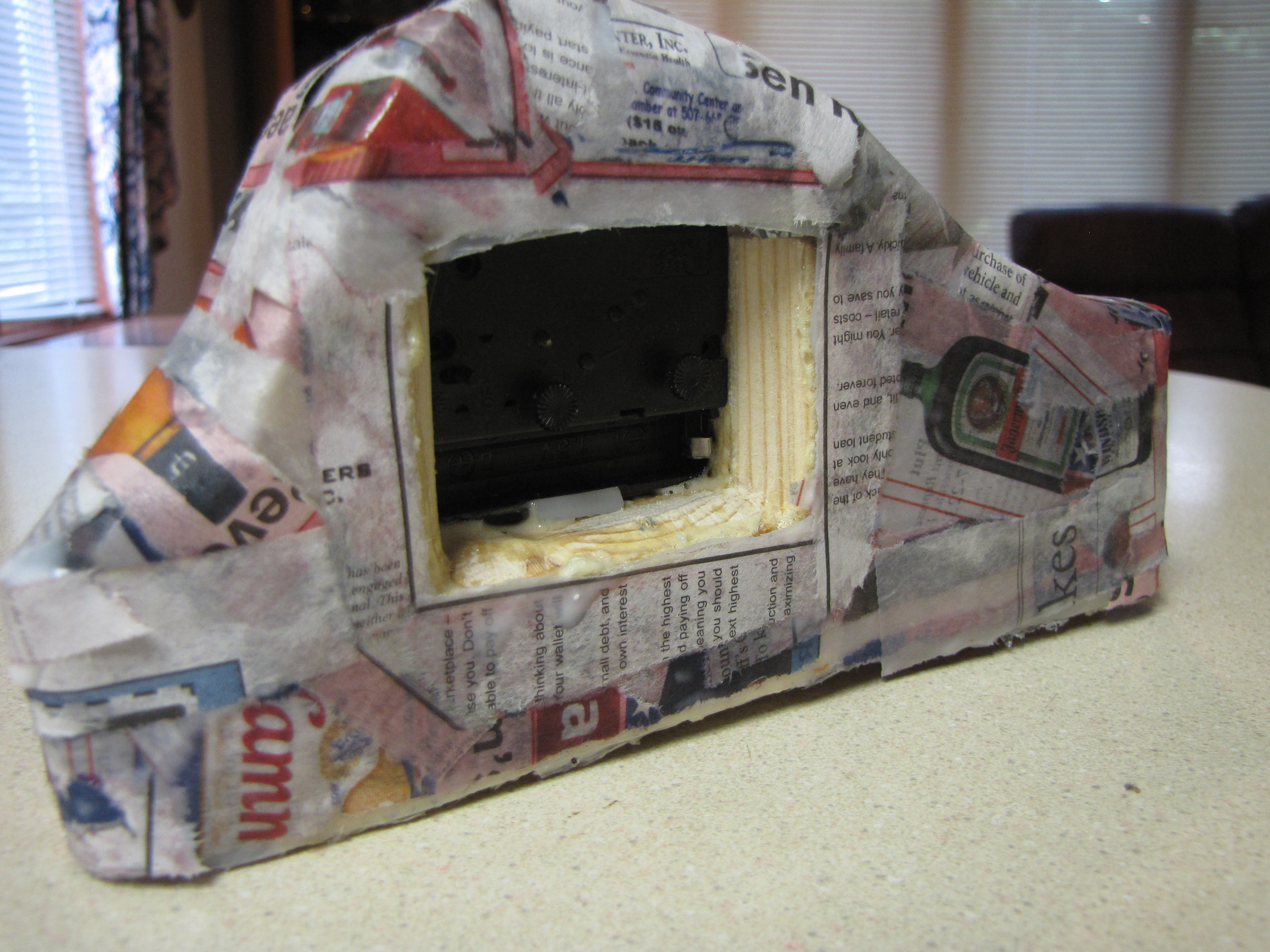 Picture of The Bear's Den ~ Paper Mache Away