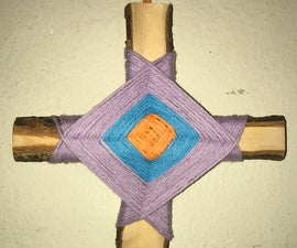 How to Make an Ojo De Dios (God's Eye)