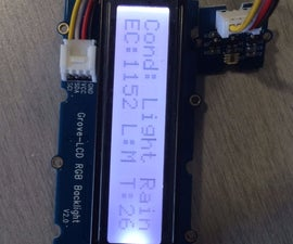 Intel Edison Hydroponics Controller