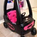 Little Girl's Bat Mobile!