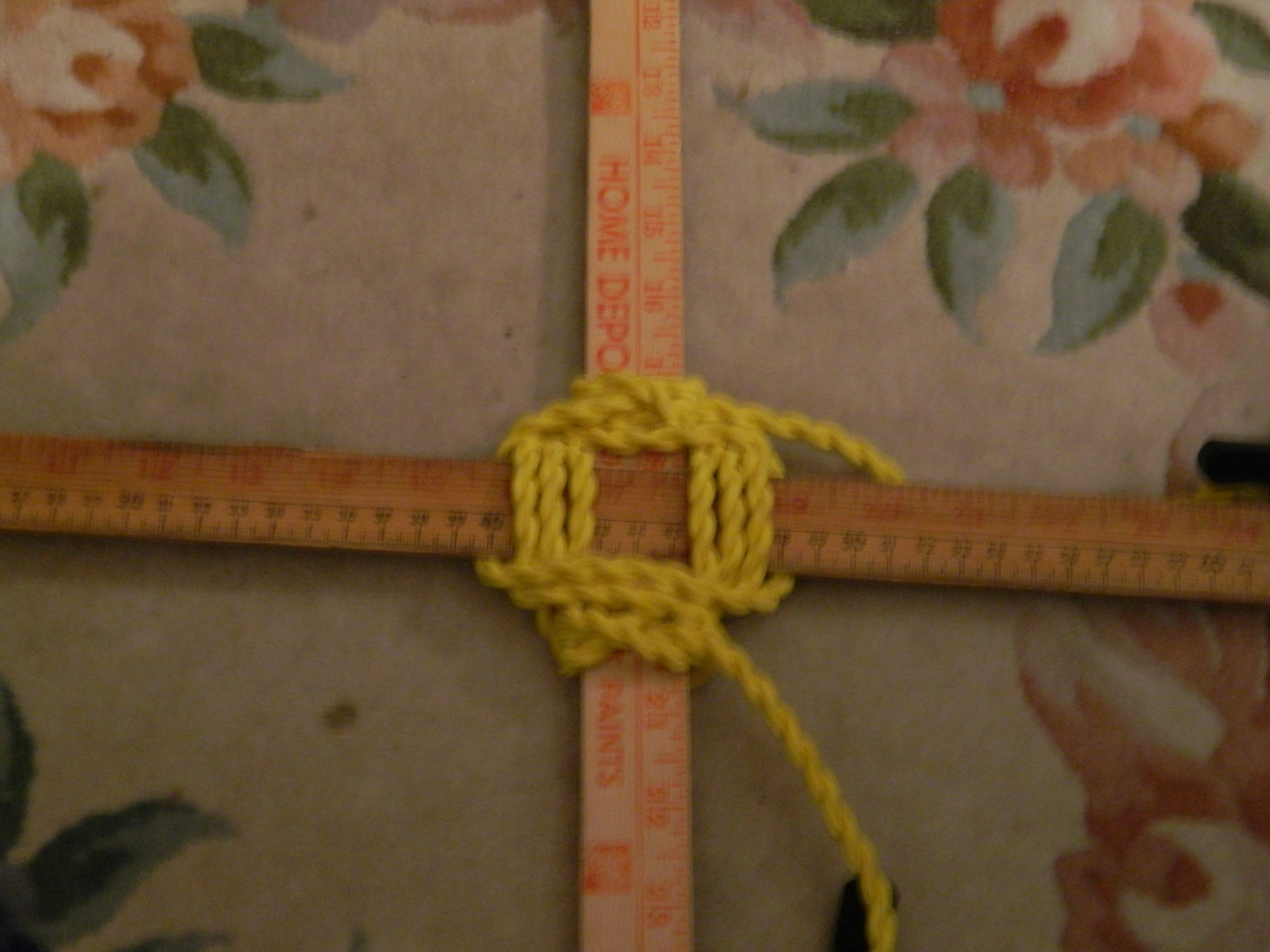 Picture of Final Clove Hitch