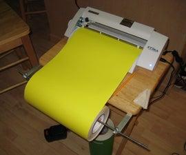 Vinyl cutter stand for cheap