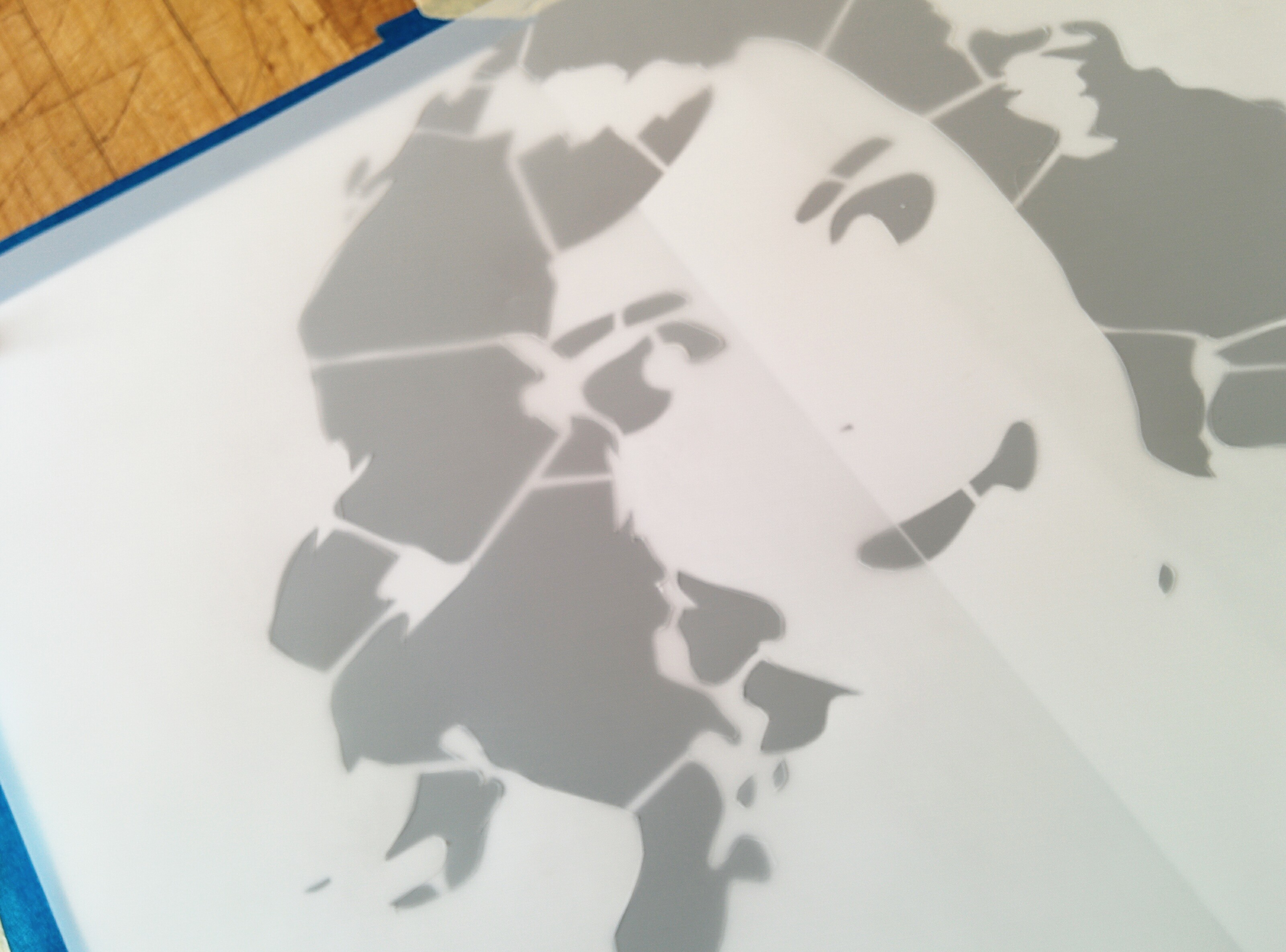 Picture of Cut Out Stencil