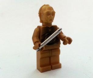 LEGO Minifig Key Chain Removal