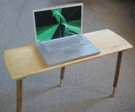 tiny table: an adjustable keyboard tray