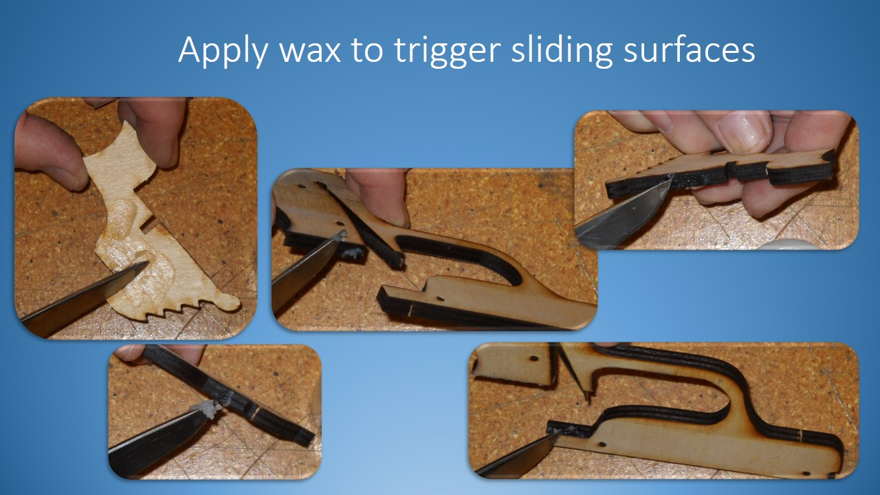 Picture of Add Wax to the Trigger