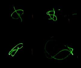 Sound Driven Laser Show