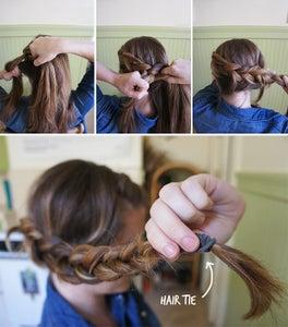 Hair-tie.