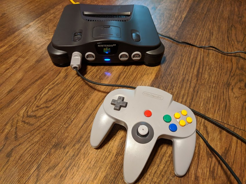 Picture of N64 Emulation System Powered by Odroid XU4