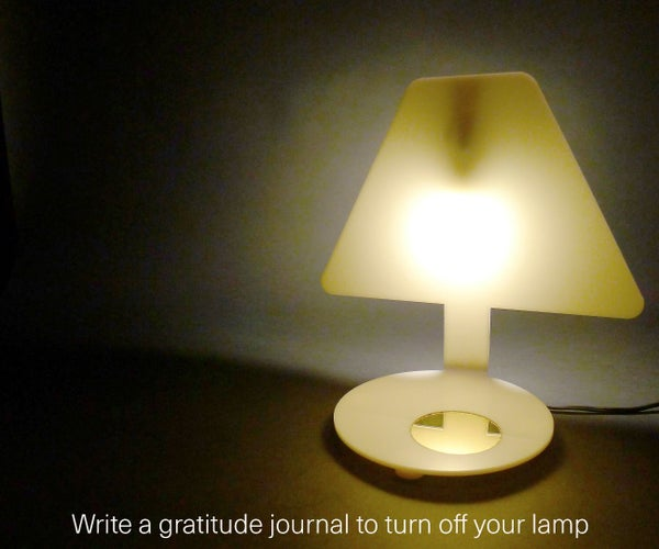 Interactive Lamp for Your Night Time Routine