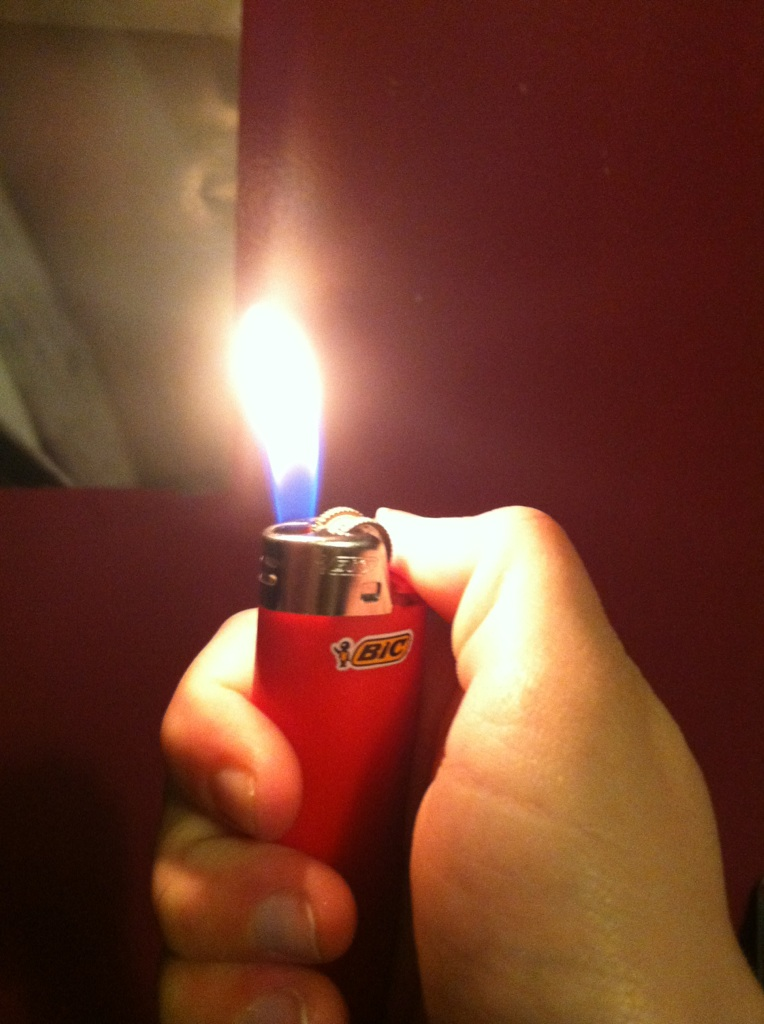 Picture of Step Two: Light Open Flame