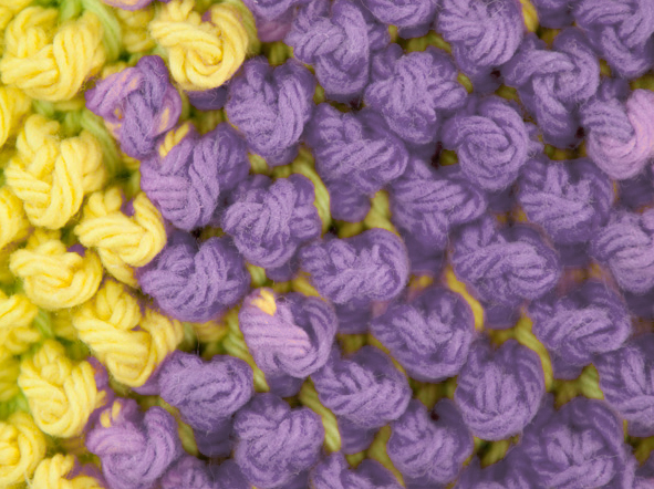 Picture of Tunisian Pebbles Dishcloth Pattern