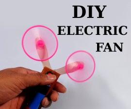 DIY - Electric Handheld Fan