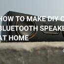 DIY Mini Cardboard Speaker :)