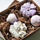 Lavender Bath Truffles with Message in a Bottle
