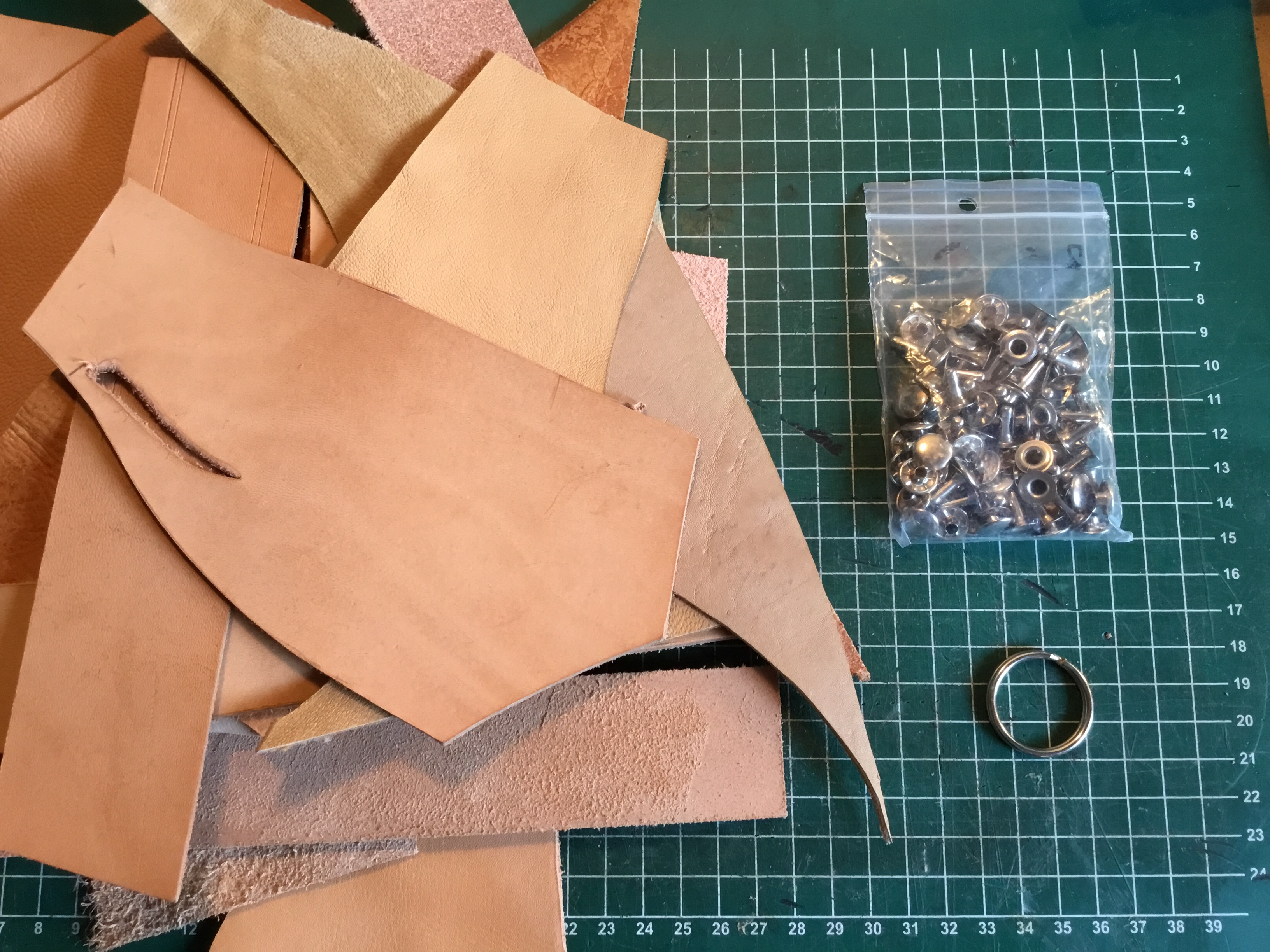 Picture of Choose the Leather and the Tools