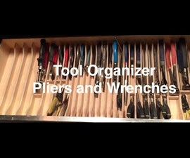 Tool Organizer - Pliers and Wrenches