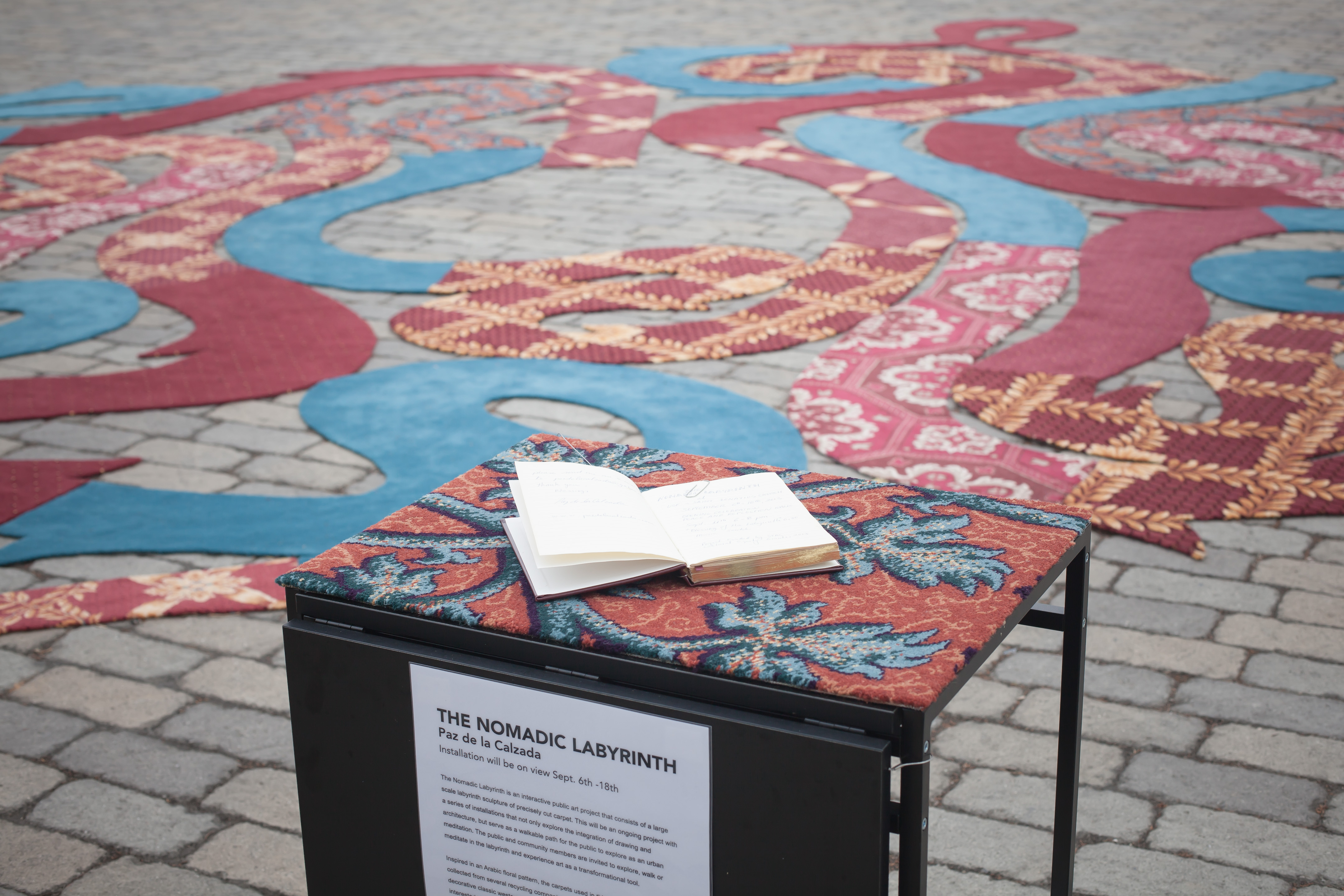 Picture of The Nomadic Labyrinth - a Public Art Project