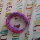 How to make the double fishtail loom bracelet