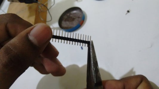 Separate Every Header Pins and Wire