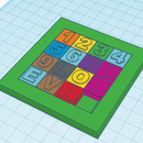 Print Your Own Slide Puzzle With Tinkercad
