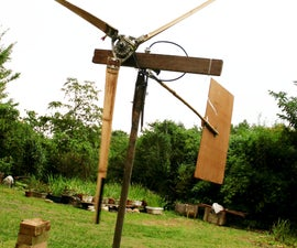 Wind Turbine Blades From Bamboo