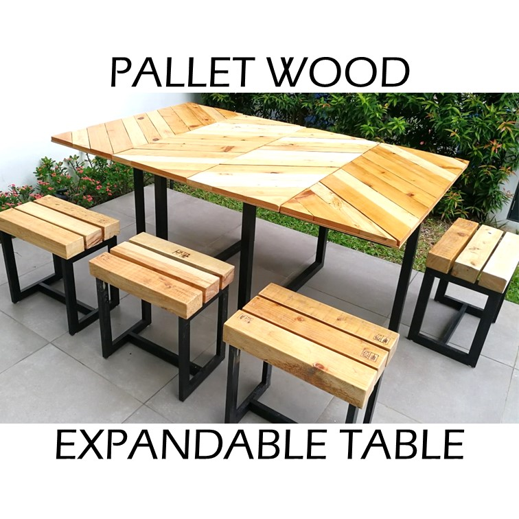 Picture of Simple Extendable Table Set With Hand-held Tools