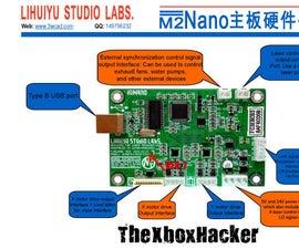 China Laser Aux Trigger Output K40 M2Nano Board