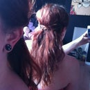Easy Messy Curly Braided Hair