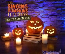 Singing Pumpkins Illusion DIY Guide