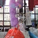 Plastic Bag Dispenser (made of cloth)