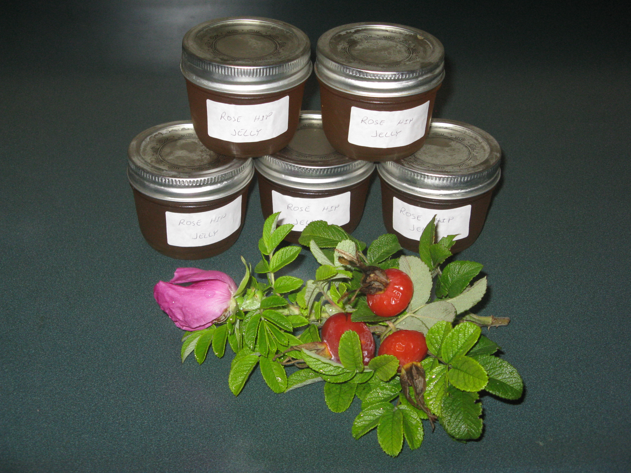 Picture of Sugar Free Rose Hip Jelly