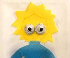 Flip Dots Simpson