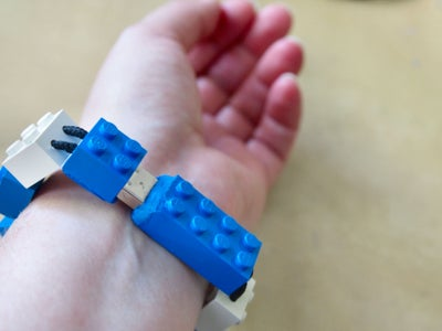 Lego USB Flash Drive Bracelet