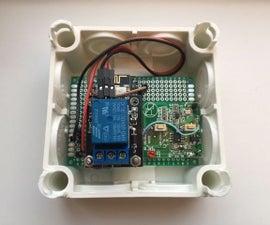 Garage Door Opener Remote Web-interface With Esp8266