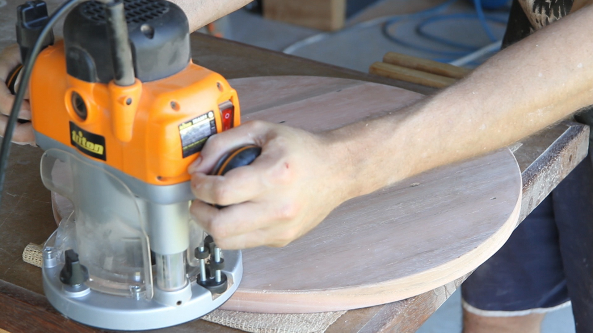 Picture of Sanding and Edging