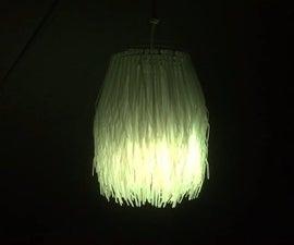 Reversible Color Changing Zip-Tie Lamp