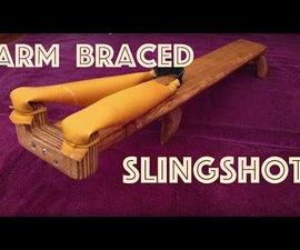 How to Make an Arm Braced Slingshot