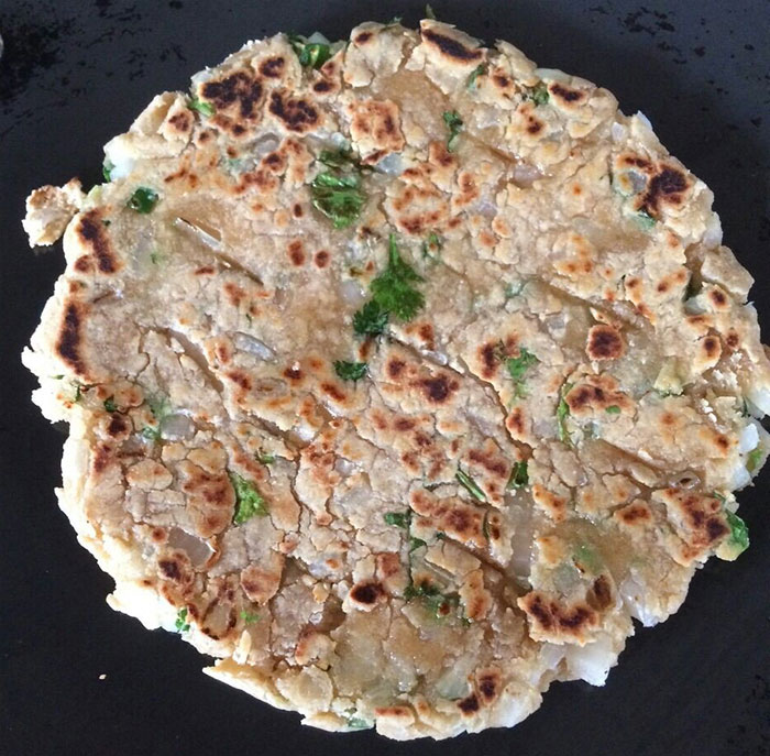 Picture of How to Make Koki Paratha