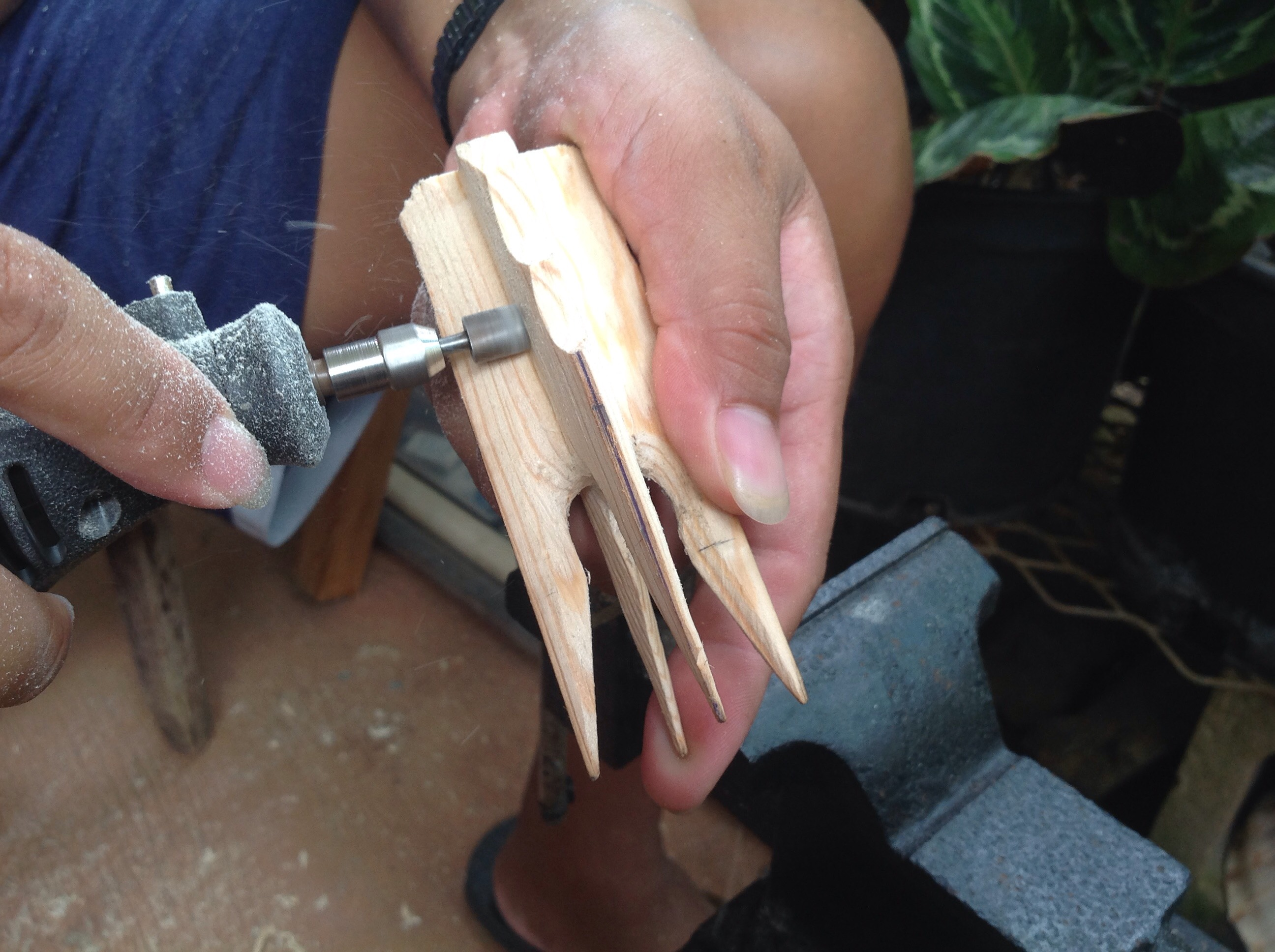 Picture of Sanding... With the Dremel