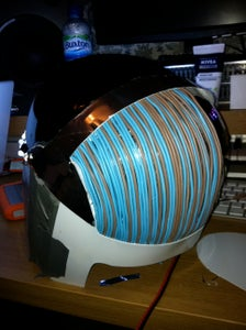 Wires on the Back of Head