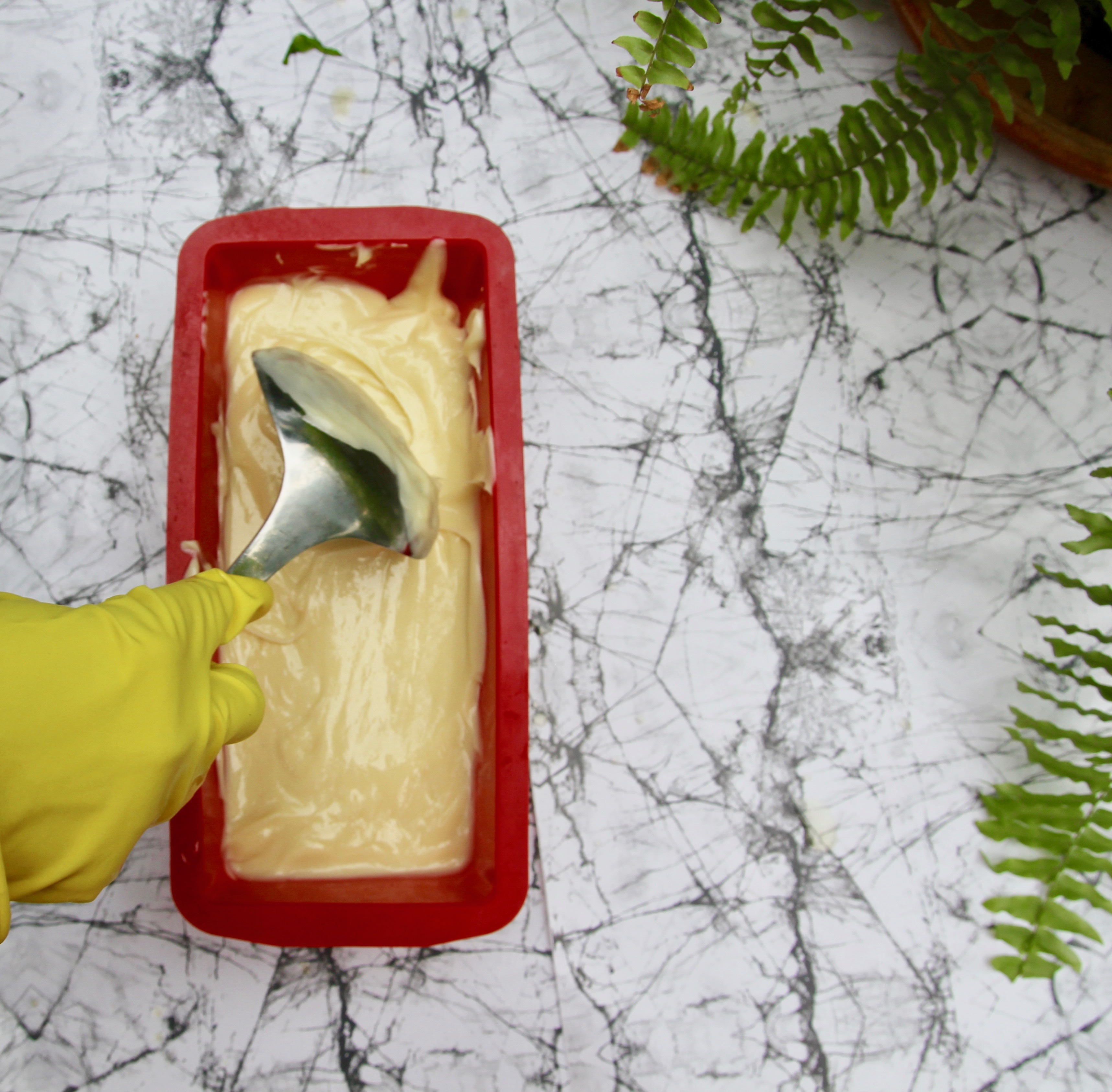 Picture of Pour Mixture in Mold