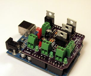 Building and Using a MOSFET Shield for Arduino