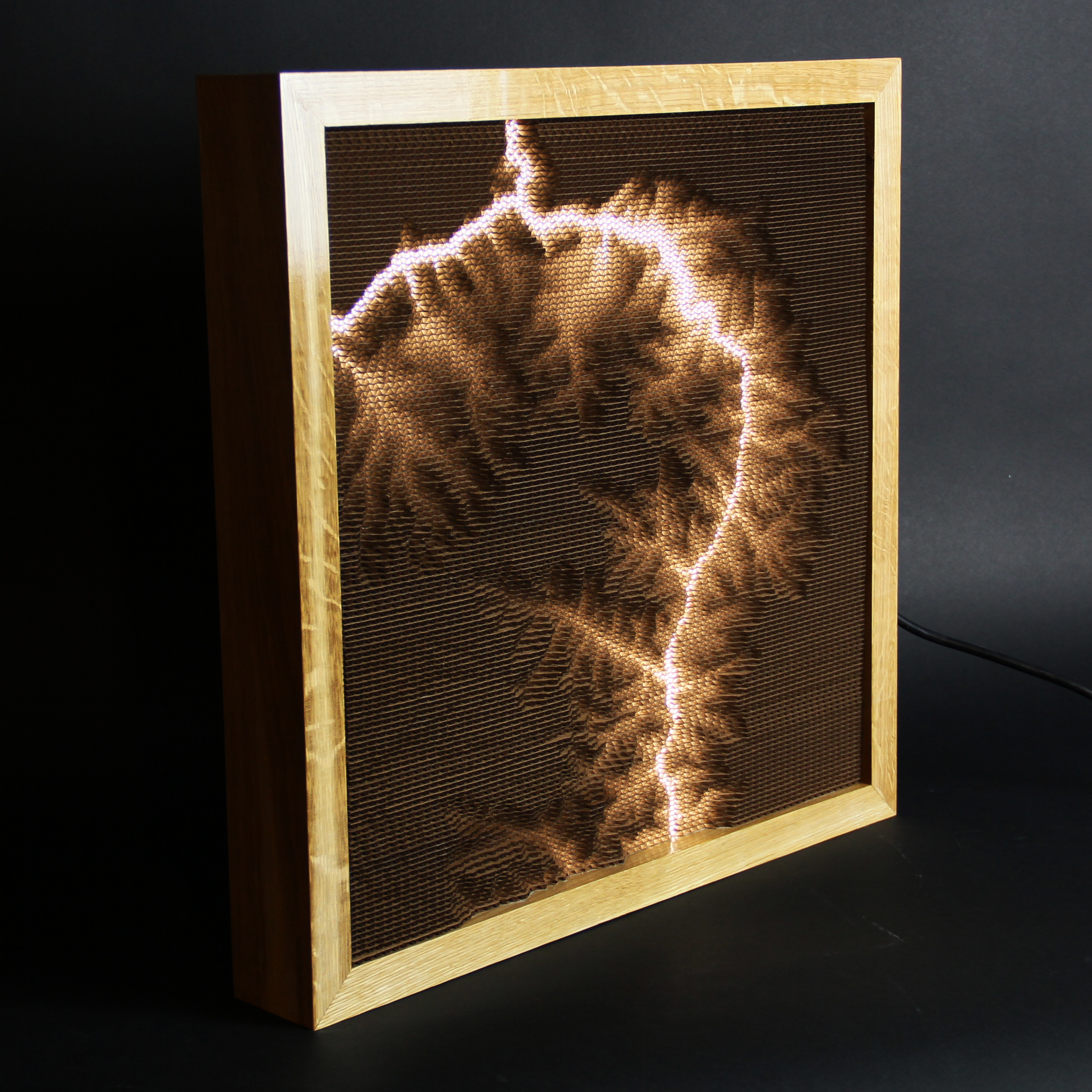 Picture of Topographical Lamp