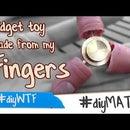 A Fidget Spinner Made Out of Fingers Aka a Finger Spinner