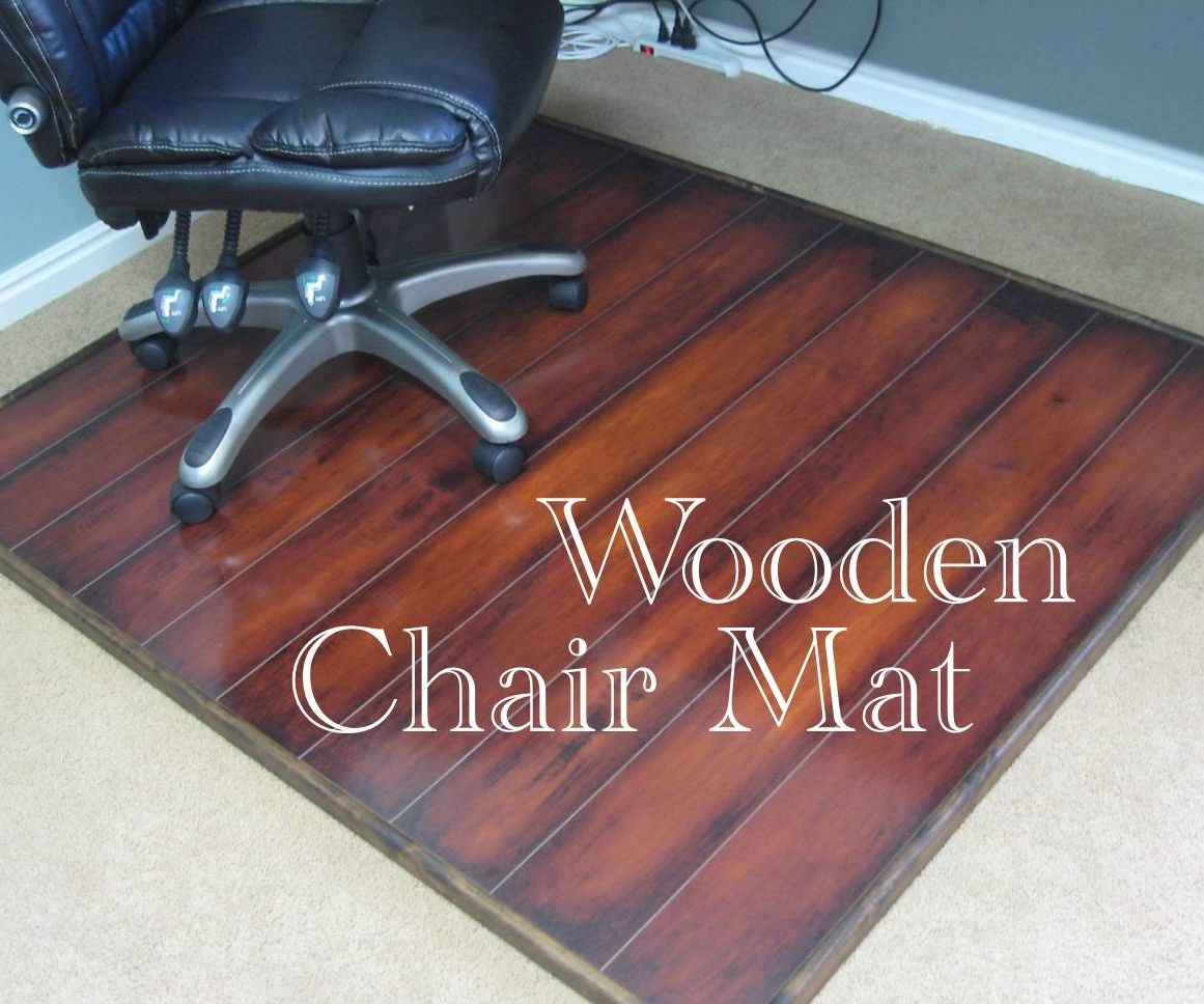 Chair Mat For Hardwood Floor full size of flooringsurprising chair mat for hardwood floor images concept largechair mats floors Wooden Chair Mat 6 Steps With Pictures