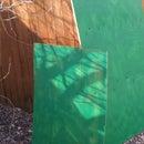 DIY outdoor green screen