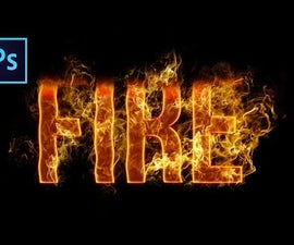 Fire Text Effect: Photoshop Tutorial